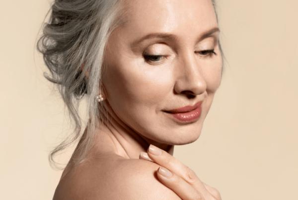 makeup artistry mature female model