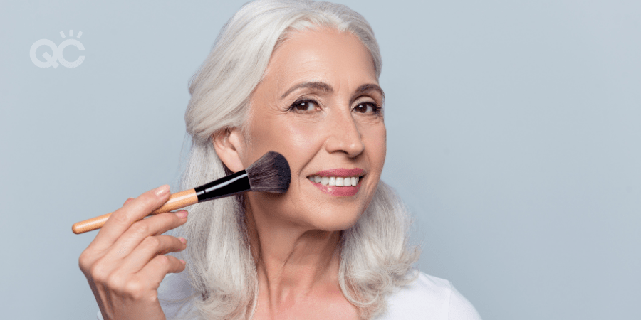 makeup artistry for mature skin