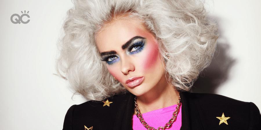 1980s makeup trends