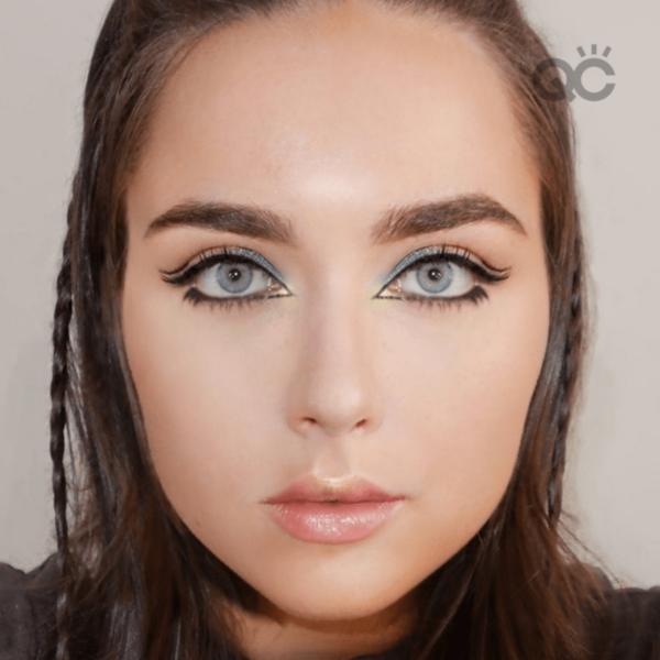 QC Makeup Academy graduate Luisa de Pietra runway assignment