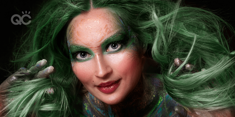 fantasy makeup design