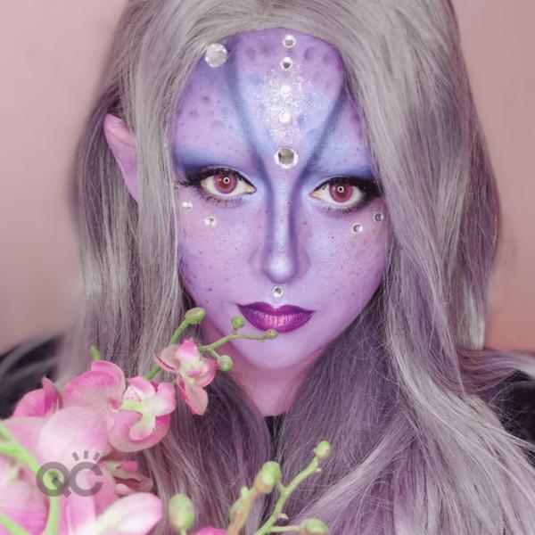 QC Makeup Academy Ambassador Alba Carpio Portfolio Image 2