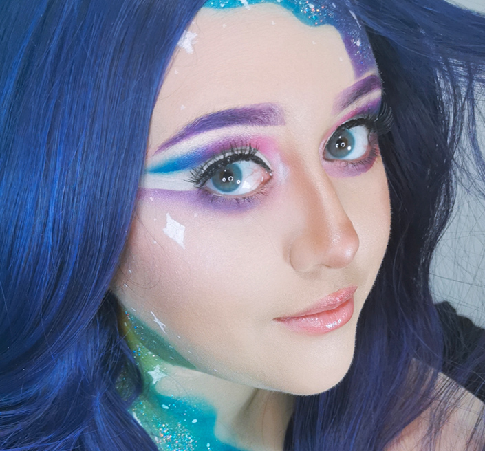 Rainbow Makeup by Alba
