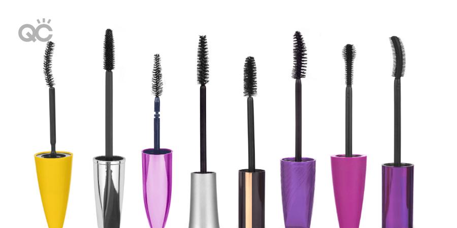 Mascara wands and brush varieties