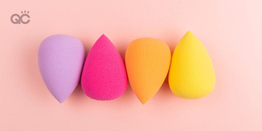 beauty blender sponges in different colors