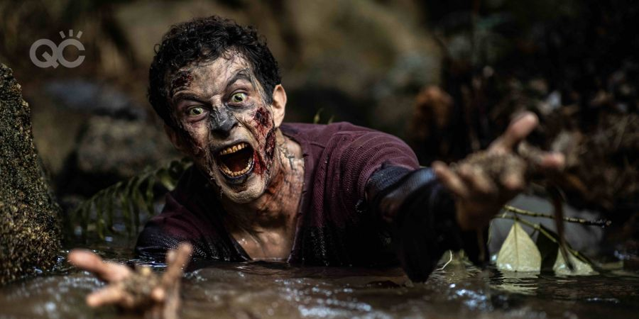 Special effects makeup course zombie assignment article portfolio image