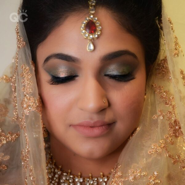 Harleen Kaur Talwar portfolio image 2, Asian bridal makeup, eyes closed