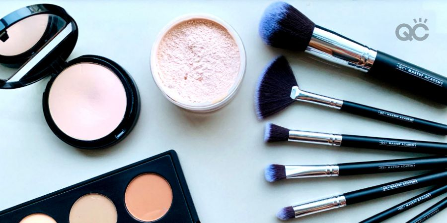 QC Makeup Academy products, Veronika Kelle portfolio image 2