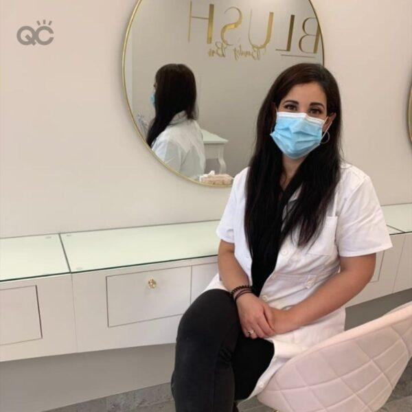 Makeup career article, June 09 2021, Nadia Calabro photo
