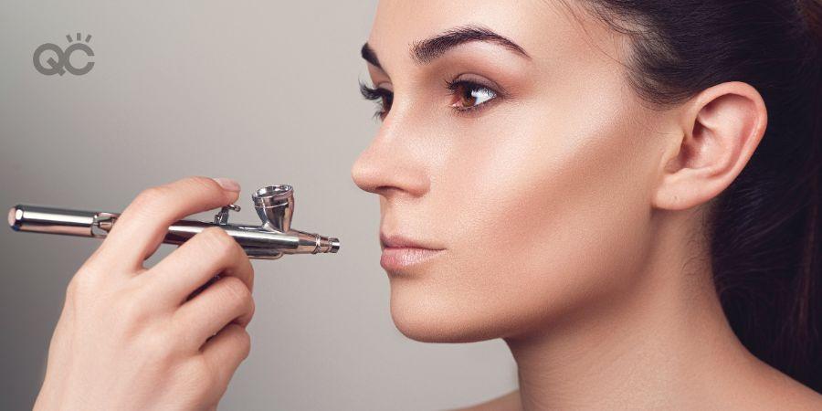 Makeup artist salary article, July 16 2021, airbrush makeup