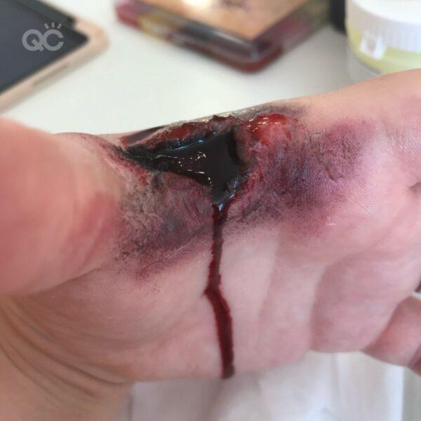 Gemma hand wound speed tutorial final result