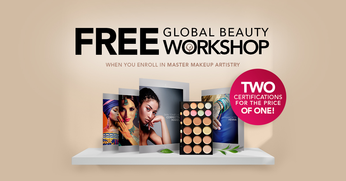 Free Global Beauty Promotion Graphic